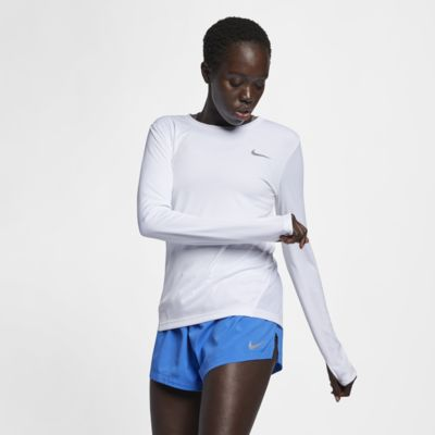 Γυναικεία μπλούζα για τρέξιμο Nike Miler