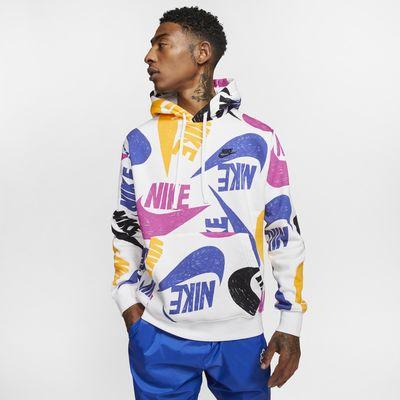 Pánská mikina s kapucí Nike Sportswear Club