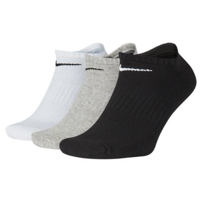 Chaussettes de training invisibles Nike Everyday Cushioned (3 paires)