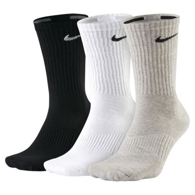 Nike Cotton Cushion Crew Socks (3 Pair)