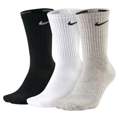 Nike Cotton Cushion Crew-sokk (tre par)