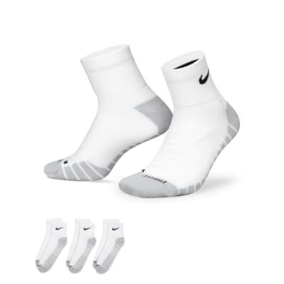 Chaussettes de training Nike Dry Cushion Quarter (3 paires)