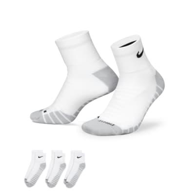 Nike Dry Cushion Quarter Training Socks (3 Pair)