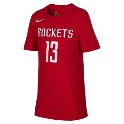 休斯顿火箭队 Nike Dri-FITNBA大童(男孩)T恤