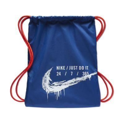Nike Saco de gimnasia con estampado