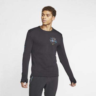 Мужская беговая футболка с длинным рукавом Nike Therma Sphere 3.0 NYC