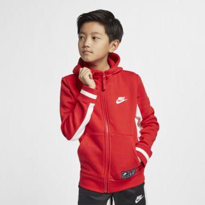 Nike Air Big Kids' Full-Zip Hoodie