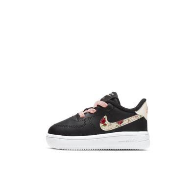 Nike Force 1 Vintage Floral-sko til babyer/småbørn