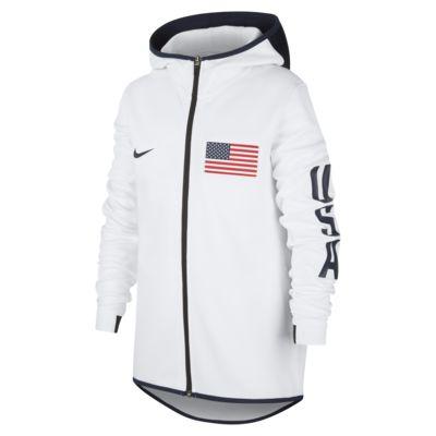 USA Nike Showtime Basketball-Hoodie für Kinder