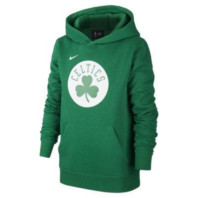 Celtics Logo Older Kids' Nike NBA Hoodie