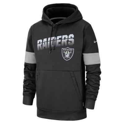 Nike Therma (NFL Raiders) Men's Hoodie