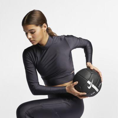 Langærmet Nike-træningstop til kvinder