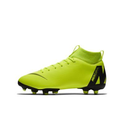 Nike Jr. Superfly VI Academy 小/大童多種場地足球釘鞋