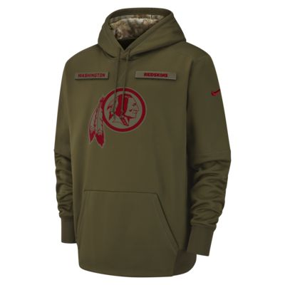Nike Therma Salute to Service (NFL Redskins) Big Kids' Hoodie