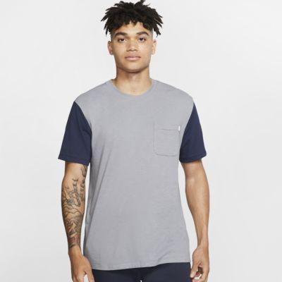 Męska dzianinowa koszula z krótkim rękawem Hurley Dri-FIT Bridge