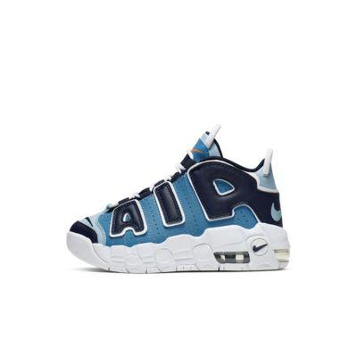 Nike Air More Uptempo-sko til små børn