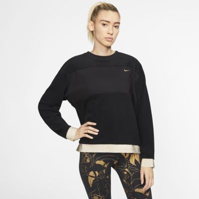 Nike Therma Icon Clash Women's Fleece Training Crew