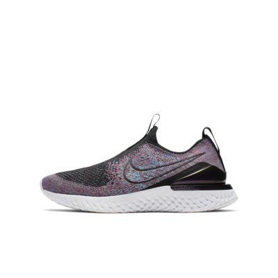 Nike Epic Phantom React Flyknit 大童跑鞋
