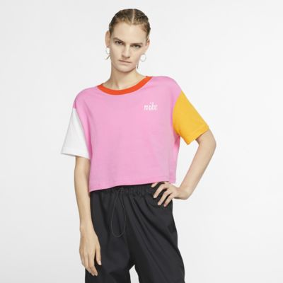 Playera corta para mujer Nike Sportswear
