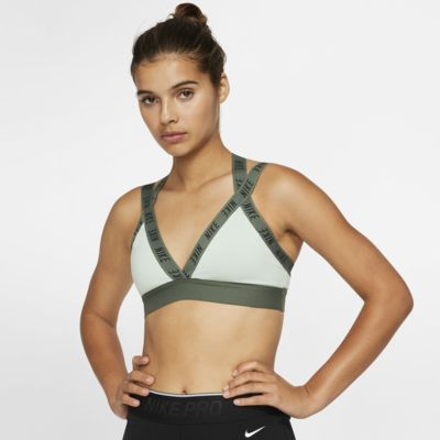 Nike Indy Logo Sostenidors esportius de subjecció lleugera - Dona