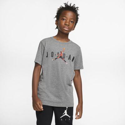T-shirt de manga curta Jordan Jumpman Júnior (Rapaz)