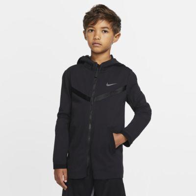 Nike Sportswear Tech Pack Hoodie mit durchgehendem Reißverschluss für ältere Kinder