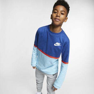 91830aa51111 Nike Sportswear Advance 15 Big Kids  (Boys ) Crew. Nike.com