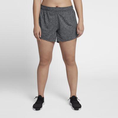 Dámské tréninkové kraťasy Nike Dri-FIT (větší velikost)