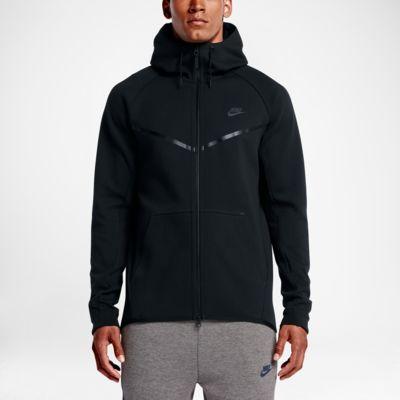 nike sportswear tech fleece windrunner noir 51e22aa0d398