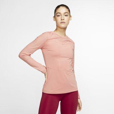Prenda para la parte superior de manga larga para mujer Nike Pro