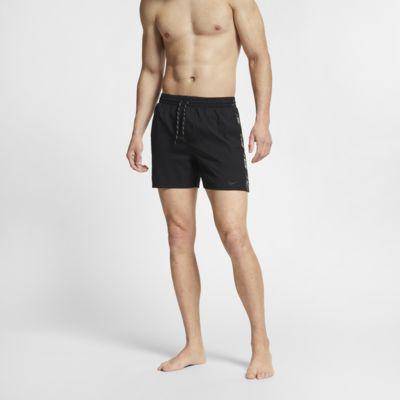 Nike Swim Logo Splice Racer Herren-Badeshorts (ca. 13 cm)
