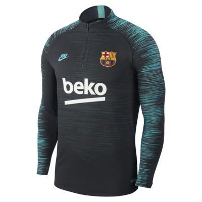 Prenda para la parte superior de entrenamiento de fútbol para hombre FC Barcelona Strike
