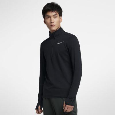 Nike Therma Element 男子半长拉链开襟跑步上衣