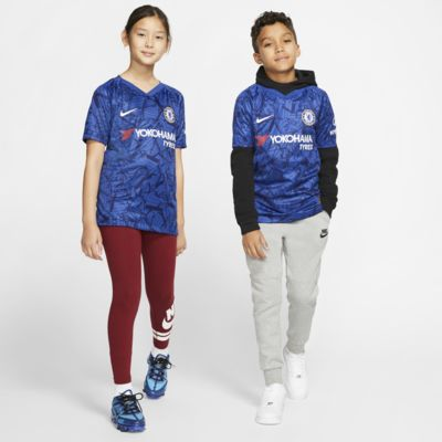 Chelsea FC 2019/20 Stadium Home Big Kids' Soccer Jersey