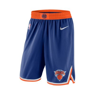 New York Knicks Nike Icon Edition Swingman NBA-s férfi rövidnadrág