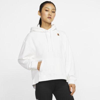 NikeCourt tennisjakke med hette for dame