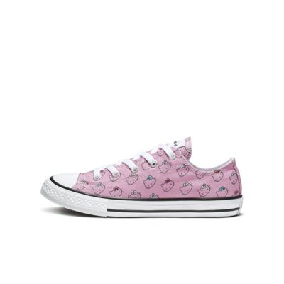 Converse x Hello Kitty Chuck Taylor All Star Low Top Little/Big Kids' Shoe