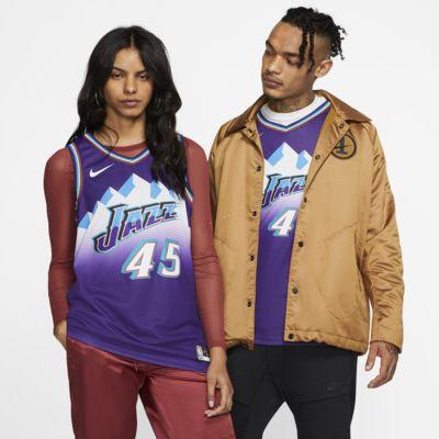 Maillot connecté Nike NBA Donovan Mitchell Classic Edition Swingman (Utah Jazz) pour Homme