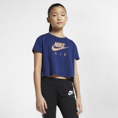 Top ridotto Nike Air - Ragazza