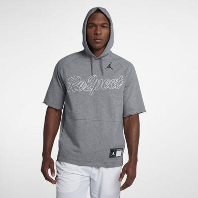 Jordan Re2pect Men's Short Sleeve Hooded Top