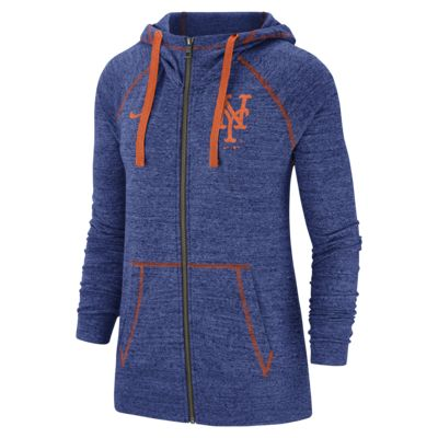 Nike Gym Vintage (MLB Mets) Women's Full-Zip Hoodie