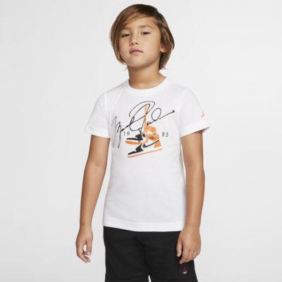T-shirt de manga curta Jordan para criança
