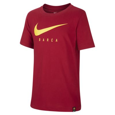 Tee-shirt de football Nike Dri-FIT FC Barcelona pour Enfant plus âgé