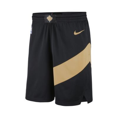 Men's Nike NBA Shorts. City Edition Swingman (Toronto Raptors)