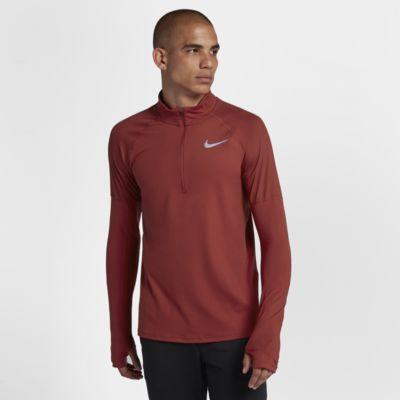 Nike løpeoverdel med glidelås i halsen til herre