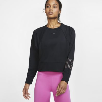 Nike Dri-FIT Get Fit Women's Fleece Graphic Training Crew
