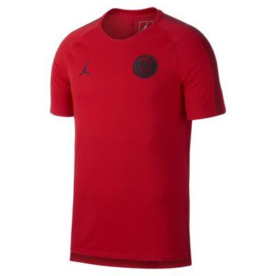Top de fútbol de manga corta para hombre Paris Saint-Germain Dri-FIT Breathe Squad