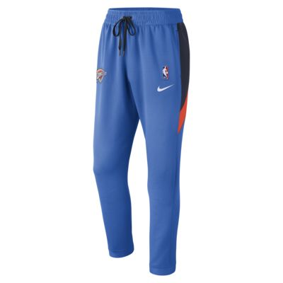 Pantalones de la NBA para hombre Oklahoma City Thunder Nike Therma Flex Showtime