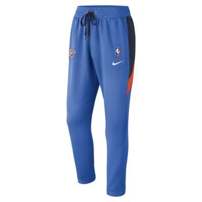 Pantaloni Oklahoma City Thunder Nike Therma Flex Showtime NBA - Uomo