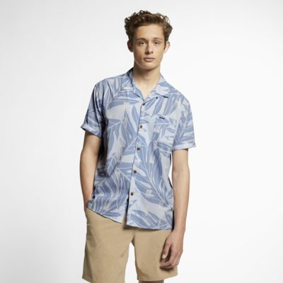 Chemise à manches courtes Hurley Sig Zane Maloulu pour Homme